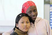 Secondary school students from Burundi & Burma are friends