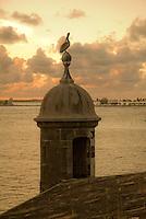 Sentry box, garita overlooking S.J. Bay