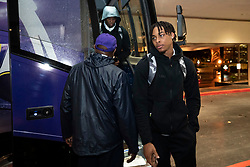The LSU Tigers arrives at the team hotel, Sunday, Dec. 22, 2019, in Atlanta. LSU will face Oklahoma in the 2019 College Football Playoff Semifinal at the Chick-fil-A Peach Bowl. (Paul Abell via Abell Images for the Chick-fil-A Peach Bowl)