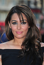 """© Licensed to London News Pictures. 30/05/2012.  England. Laila Rouass attends the world premiere of """"ILL MANNERS"""" featuring Plan B at The Empire Liecester Square London   Photo credit : ALAN ROXBOROUGH/LNP"""