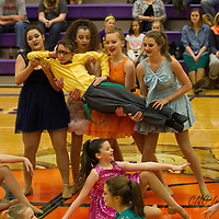 2-8-14 Halftime Dancers (3rd) BHS vs Farmington