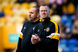 Newport County manager Michael Flynn - Mandatory by-line: Robbie Stephenson/JMP - 12/05/2019 - FOOTBALL - One Call Stadium - Mansfield, England - Mansfield Town v Newport County - Sky Bet League Two Play-Off Semi-Final 2nd Leg