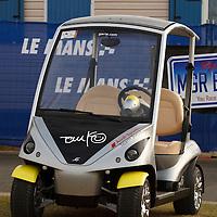 Tom Kristensen's company car…at Le Mans 2011.