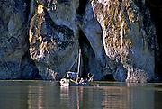 Goldrush era dorie on theYukon River