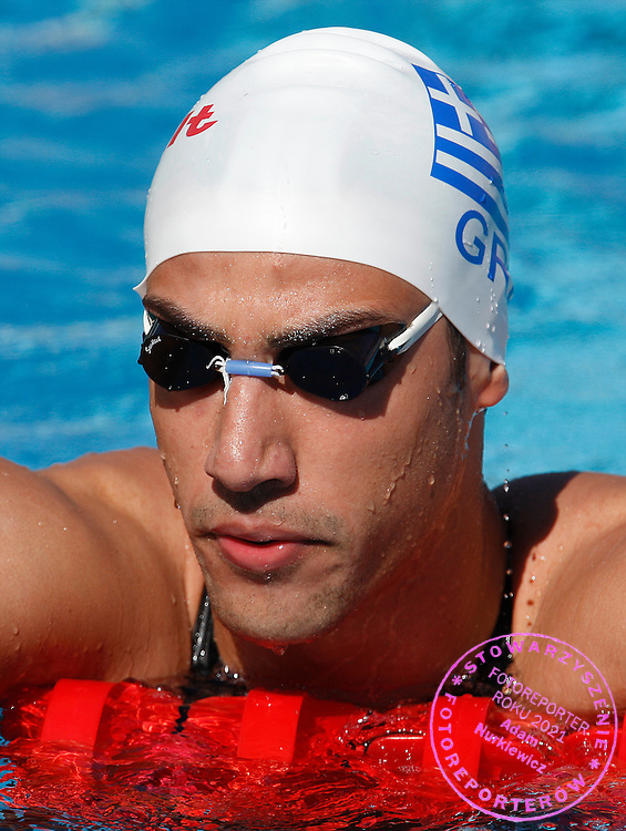 ROME 29/07/2009.13th Fina World Championships.Men's 100m Freestyle - Preliminary.Ioannis Kalargaris of Greece ..photo: Piotr Hawalej / WROFOTO