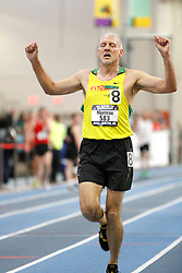 USATF Masters Indoor Championship, men's mile, 50-54 age-group race,
