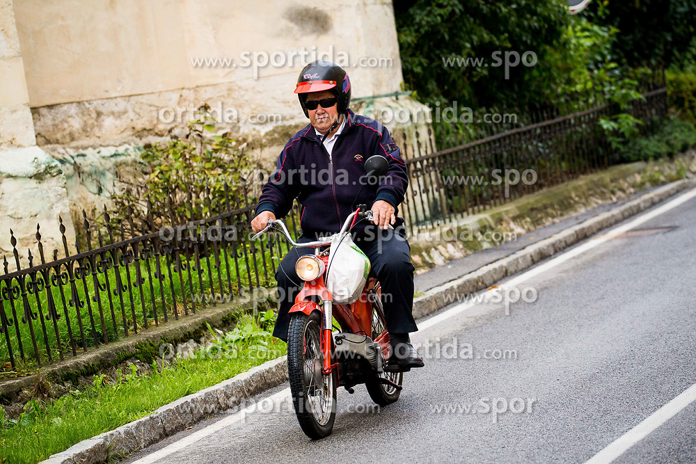 Moped at 5. Konjiski maraton / 5th Konjice marathon 2017, on September 24, 2017 in Slovenske Konjice, Slovenia. Photo by Vid Ponikvar / Sportida