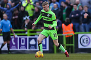 Forest Green Rovers Ben Liddle(18) during the EFL Sky Bet League 2 match between Forest Green Rovers and Yeovil Town at the New Lawn, Forest Green, United Kingdom on 16 February 2019.