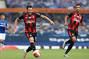 Bournemouth defender Adam Smith (15) during the Premier League match between Everton and Bournemouth at Goodison Park, Liverpool, England on 26 July 2020.