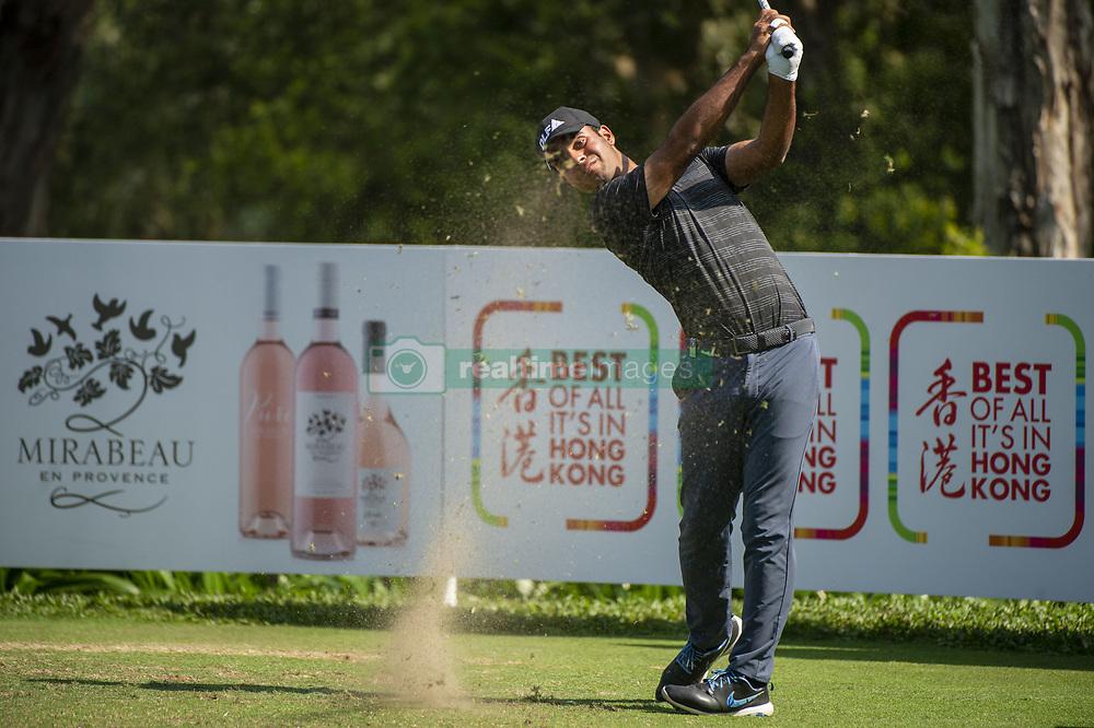 November 23, 2018 - Hong Kong, China - Indian Golf Player Shubhankar Sharma during a Golf Game in the 2018 Honma Hong Kong Open in Hong Kong, China. (Credit Image: © Harry Wai/NurPhoto via ZUMA Press)