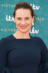 © Licensed to London News Pictures. 11/08/2016. DANIELA HOLTZ  attends the VIP press screening of Victoria. The ITV series traces the early life of Queen Victoria, from her accession to the throne at the tender age of 18 through to her courtship and marriage to Prince Albert.  London, UK. Photo credit: Ray Tang/LNP