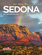 Cover for Sedona Chamber of Commerce Magazine