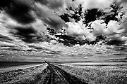 Clouds and field, Grande Pointe, Manitoba, Canada