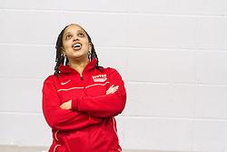 Boston University Multi-team indoor track & field, BU coach Robyn Johnson
