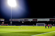 Booth Crescent  during the Johnstone's Paint Trophy match between York City and Doncaster Rovers at Bootham Crescent, York, England on 6 October 2015. Photo by Simon Davies.