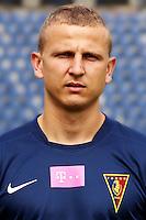 15.07.2014 Szczecin<br /> T-Mobile Ekstraklasa Sezon 2014/2015<br /> Pogon Szczecin<br /> Maciej Dabrowski