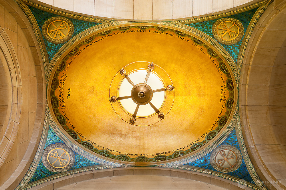 Ceiling, Boston Public Library, Boston, MA