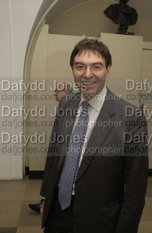 M.P. Philip Dunne, The Leader's Dinner ( Michael Howard's ) Banqueting House. Whitehall. London.  November 2005. ONE TIME USE ONLY - DO NOT ARCHIVE  © Copyright Photograph by Dafydd Jones 66 Stockwell Park Rd. London SW9 0DA Tel 020 7733 0108 www.dafjones.com