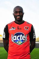 Christian Bekamenga - 17.09.2014 - Photo officielle Laval - Ligue 2 2014/2015<br /> Photo : Philippe Le Brech / Icon Sport