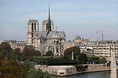 Notre Dame before the fire, Paris, France
