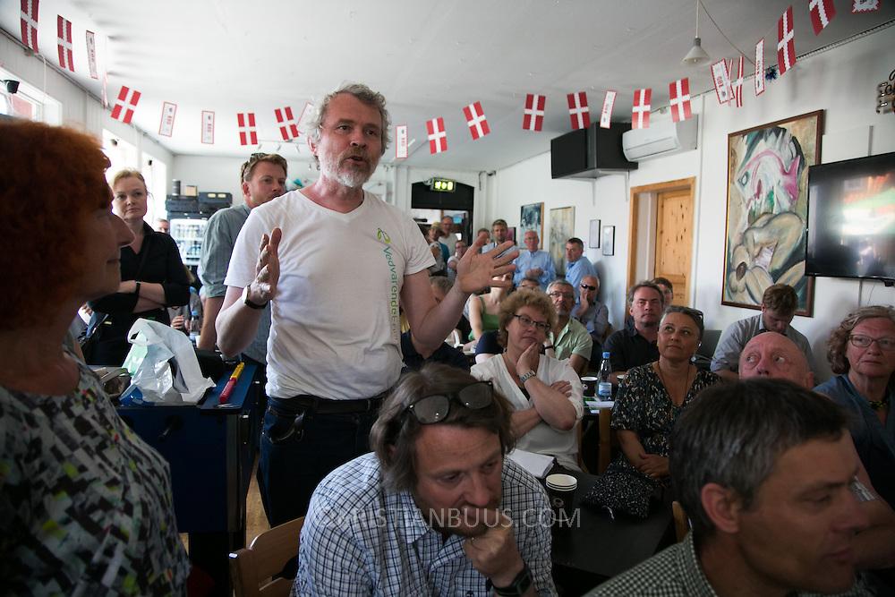Connie Hedegaard. Energi og monopol. Folkemøde 2015 i Allinge på Bornholm.