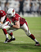 Arizona Cardinals rookie offensive guard Cole Toner (61) makes a move during the 2016 NFL preseason football game against the Oakland Raiders on Friday, Aug. 12, 2016 in Glendale, Ariz. The Raiders won the game 31-10. (©Paul Anthony Spinelli)