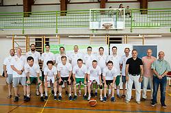 Slovenian Deaf Basketball team at media day, on June 13, 2016 in GIB Centre, Ljubljana, Slovenia. Photo by Vid Ponikvar / Sportida