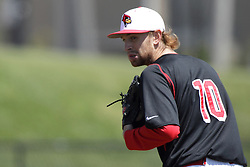 26 April 2015:  Redbird starting pitcher Steve Heilenbach during an NCAA Division I Baseball game between the Missouri State Bears and the Illinois State Redbirds in Duffy Bass Field, Normal IL