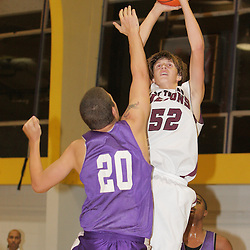 2008 November 13:  Steven Wronkoski (#52) during a 39-25 win by the Hammond Tornados over the St. Thomas Aquinas Falcons during the Independence prep basketball jamboree at the Independence High School Gym in Independence, LA.