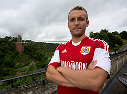 Liam Kelly of Bristol City - Photo mandatory by-line: Kieran McManus/JMP - Tel: Mobile: 07966 386802 31/07/2013 - SPORT - FOOTBALL - Avon Gorge Hotel - Clifton Suspension bridge - Bristol -  Team Photo