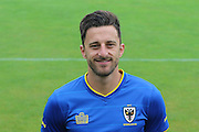 AFC Wimbledon midfielder Chris Whelpdale at AFC Wimbledon Team Photo 02AUG16 at the Cherry Red Records Stadium, Kingston, England on 2 August 2016. Photo by Stuart Butcher.