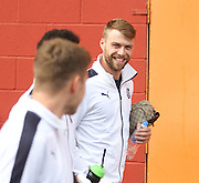 Rory Loy on the short walk to Tannadice - Dundee United v Dundee at Tannadice<br /> - Ladbrokes Premiership<br /> <br />  - © David Young - www.davidyoungphoto.co.uk - email: davidyoungphoto@gmail.com