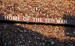 Fans pack the student side of Kyle Field during an NCAA college football game between South Carolina and Texas A&M Saturday, Sept. 30, 2017, in College Station, Texas. (AP Photo/Sam Craft)