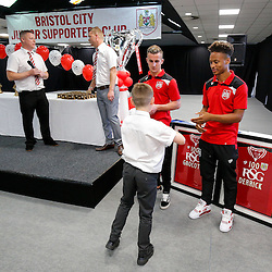 Bristol City Junior Supporters Club Presentation Evening