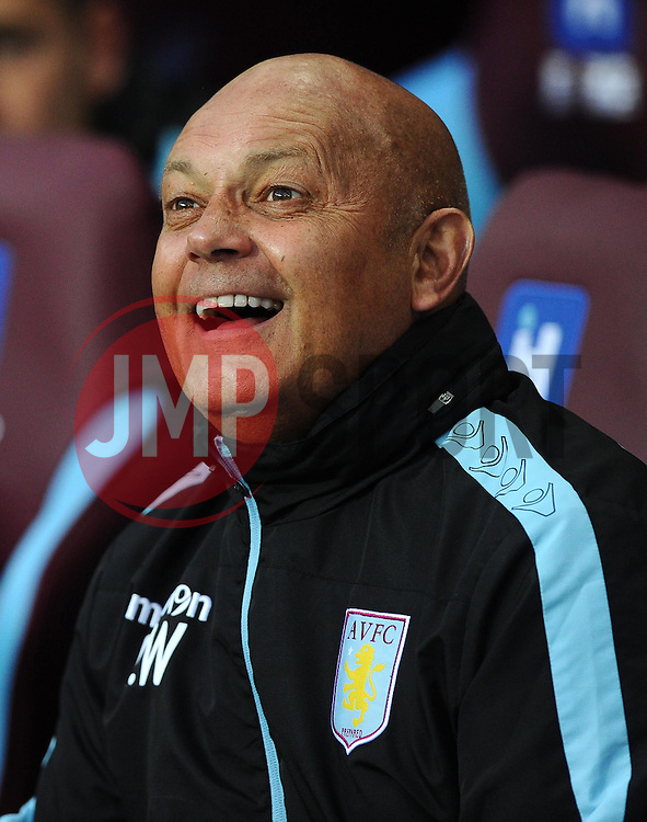 Ray Wilkins  - Mandatory byline: Joe Meredith/JMP - 07966386802 - 25/08/2015 - FOOTBALL - Villa Park -Birmingham,England - Aston Villa v Notts County - Capital One Cup - Second Round