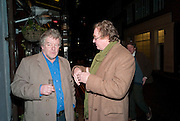 JULIAN BANNERMAN; CHRISTOPHER SIMON SYKES, The Way We Wore.- Photographs of parties in the 70's by Nick Ashley. Sladmore Contemporary. Bruton Place. London. 13 January 2010. *** Local Caption *** -DO NOT ARCHIVE-© Copyright Photograph by Dafydd Jones. 248 Clapham Rd. London SW9 0PZ. Tel 0207 820 0771. www.dafjones.com.<br /> JULIAN BANNERMAN; CHRISTOPHER SIMON SYKES, The Way We Wore.- Photographs of parties in the 70's by Nick Ashley. Sladmore Contemporary. Bruton Place. London. 13 January 2010.