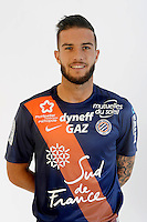 Anthony RIBELIN - 06.10.2015 - Photo officielle Montpellier - Ligue 1<br /> Photo : De Hullessen / Mhsc / Icon Sport