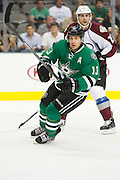 DALLAS, TX - SEPTEMBER 26:  Ray Whitney #13 of the Dallas Stars skates without the puck against the Colorado Avalanche in an NHL preseason game on September 26, 2013 at the American Airlines Center in Dallas, Texas.  (Photo by Cooper Neill/Getty Images) *** Local Caption *** Ray Whitney