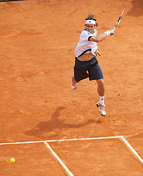 MONTE-CARLO, MONACO - Saturday, April 17, 2010: David Ferrer (ESP) during the Men's Singles Semi-Final on day six of the ATP Masters Series Monte-Carlo at the Monte-Carlo Country Club. (Photo by David Rawcliffe/Propaganda)