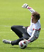 Fotball<br /> Trening Tyskland<br /> 03.06.2007<br /> Foto: Witters/Digitalsport<br /> NORWAY ONLY<br /> <br /> Jens Lehmann<br /> DFB Training Fussball Deutschland