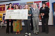 College National Championship AZ check Presentation at Mesa Washington Elementary