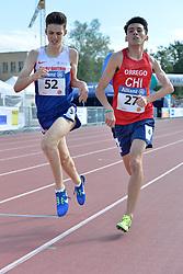 06/08/2017; Nuttall, Luke, T46, GBR, Orrego Campos, Mauricio Esteban, CHI at 2017 World Para Athletics Junior Championships, Nottwil, Switzerland