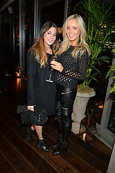 Left to right, MARNIE TOOCARAM and HANNAH SAUNDERS at the Launch Of Osman Yousefzada's 'The Collective' 4th edition with special guest collaborator Poppy Delevingne held in the Rumpus Room at The Mondrian Hotel, 19 Upper Ground, London SE1 on 24th November 2014, sponsored by Storm models and Beluga vodka.