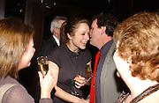 Jodhi May. Blackbird press night,  Mint Leaf. London. 13 February 2006. ONE TIME USE ONLY - DO NOT ARCHIVE  © Copyright Photograph by Dafydd Jones 66 Stockwell Park Rd. London SW9 0DA Tel 020 7733 0108 www.dafjones.com