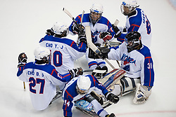 JPN v KOR during the 2013 World Para Ice Hockey Qualifiers for Sochi, Torino, Italy