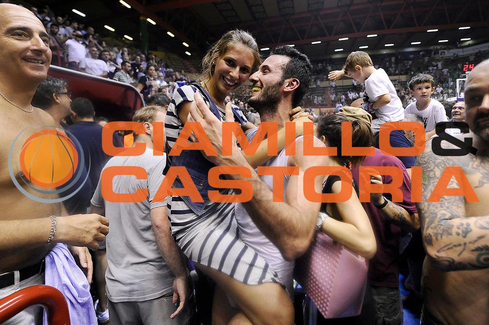 DESCRIZIONE : Forli DNB Final Four 2014-15 Gecom Mens Sana 1871 Eternedile Bologna<br /> GIOCATORE : Gennaro Sorrentino<br /> CATEGORIA : esultanza postgame<br /> SQUADRA : Eternedile Bologna<br /> EVENTO : Campionato Serie B 2014-15<br /> GARA : Gecom Mens Sana 1871 Eternedile Bologna<br /> DATA : 13/06/2015<br /> SPORT : Pallacanestro <br /> AUTORE : Agenzia Ciamillo-Castoria/M.Marchi<br /> Galleria : Serie B 2014-2015 <br /> Fotonotizia : Forli DNB Final Four 2014-15 Gecom Mens Sana 1871 Eternedile Bologna