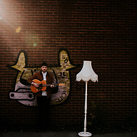 City Playlists ~ Michael Mulholland Guitarist Kelham Island, Sheffield Portrait Shoot