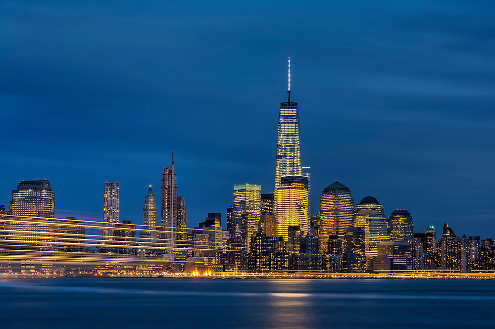 NYC Skyline, Hoboken, NJ.