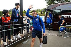 Ollie Clarke of Bristol Rovers arrives at Adams Park for the Sky Bet League One fixture against Wycombe Wanderers - Mandatory by-line: Robbie Stephenson/JMP - 18/08/2018 - FOOTBALL - Adam's Park - High Wycombe, England - Wycombe Wanderers v Bristol Rovers - Sky Bet League One