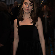 Ophelia Lovibond Arriver at the Quiz press night at Noel Coward Theatre, London, UK